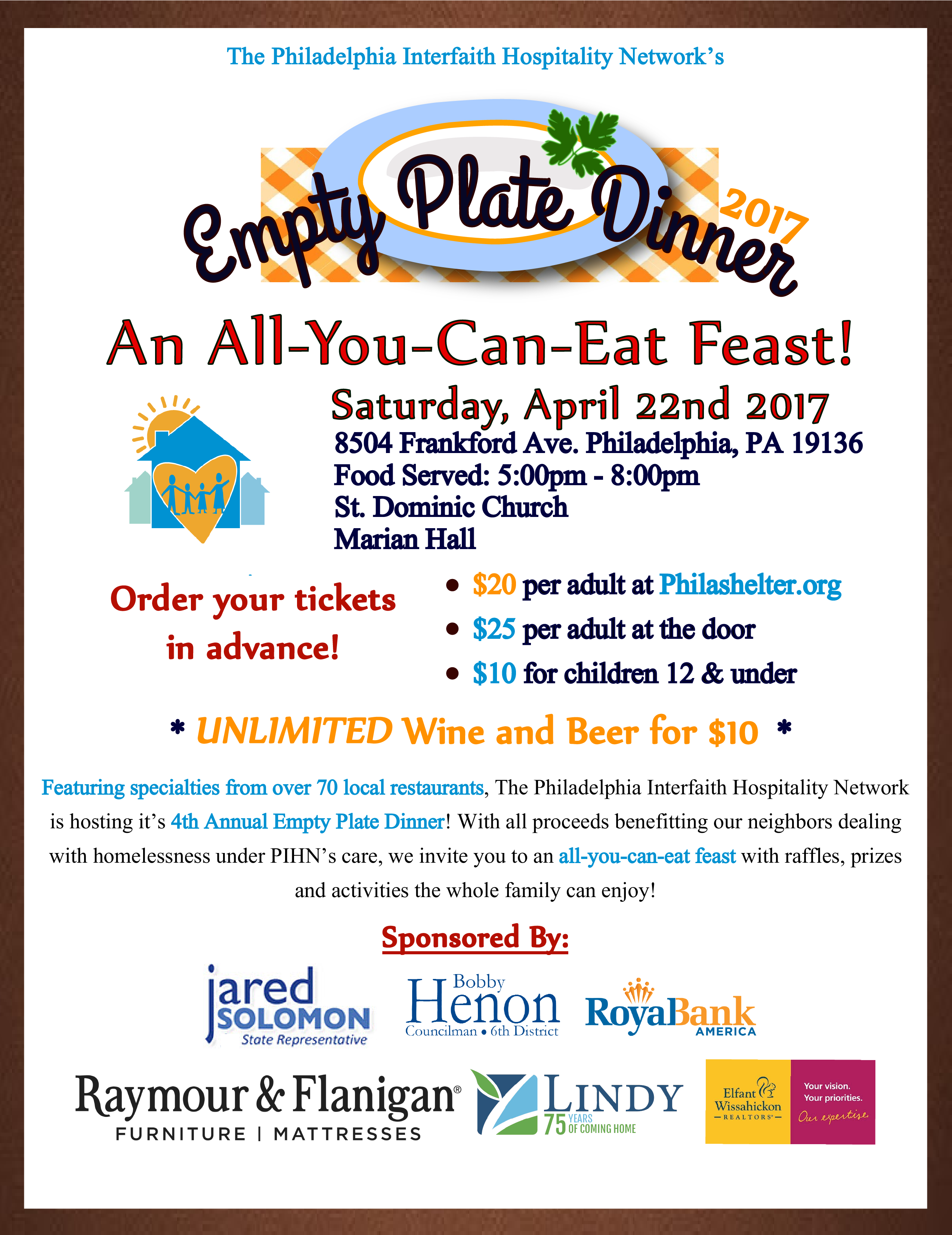 Revised Empty Plate Flyer