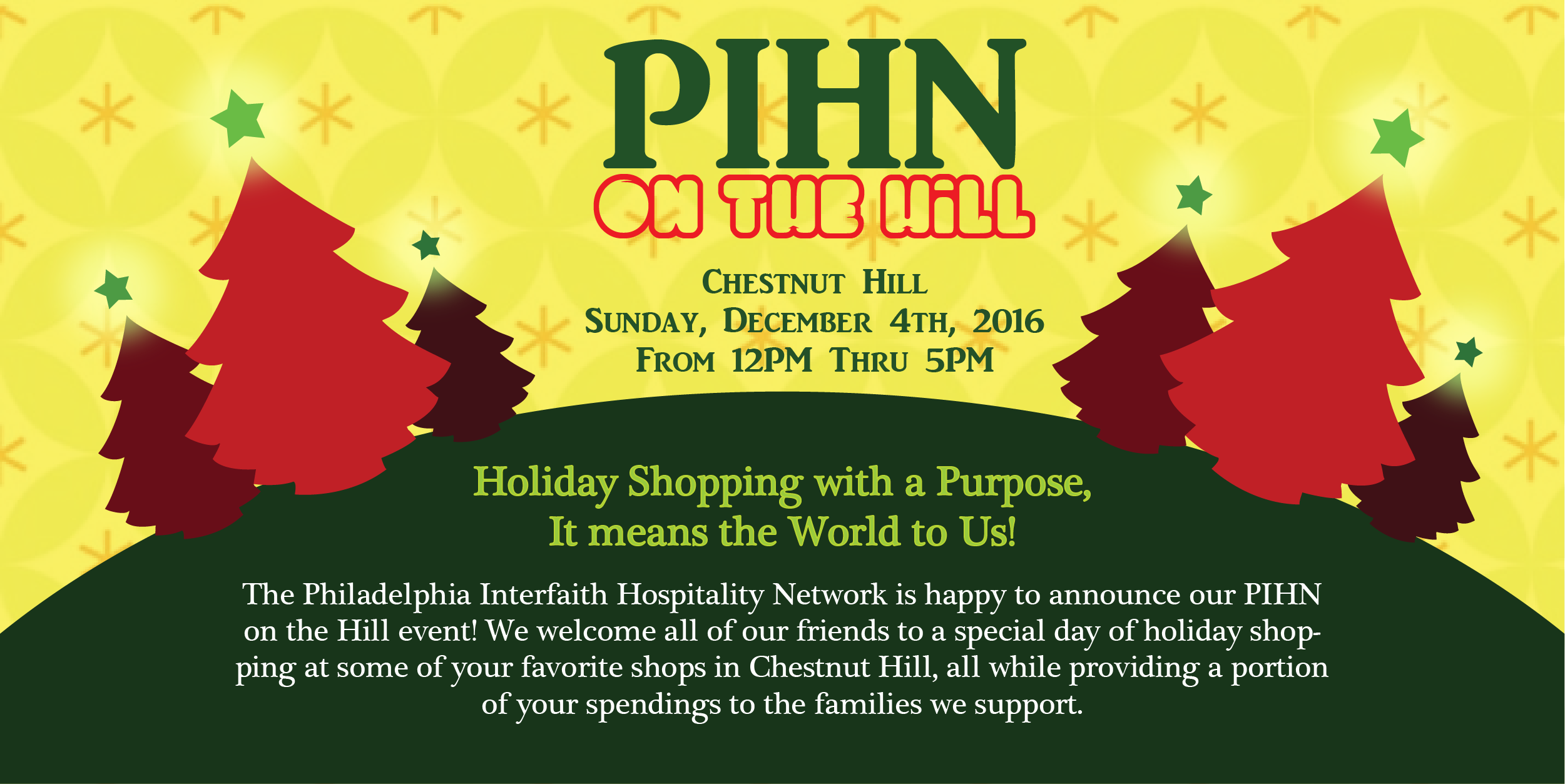 PIHN on the Hill, December 4th