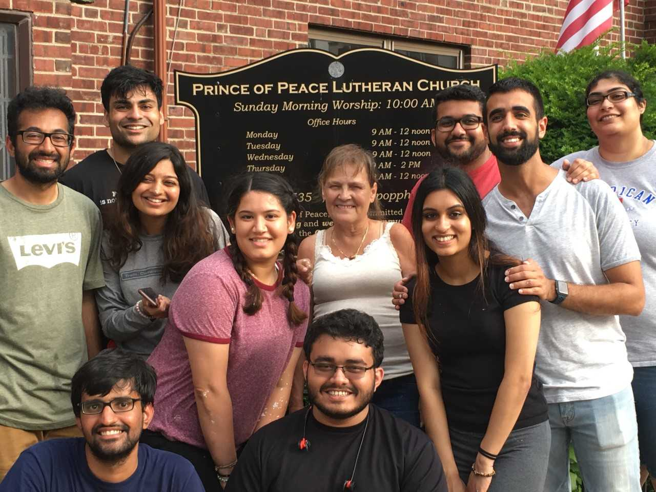 Ismaili Students Clean Prince of Peace