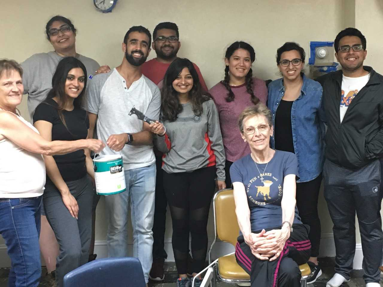 Ismaili Students Clean Prince of Peace2