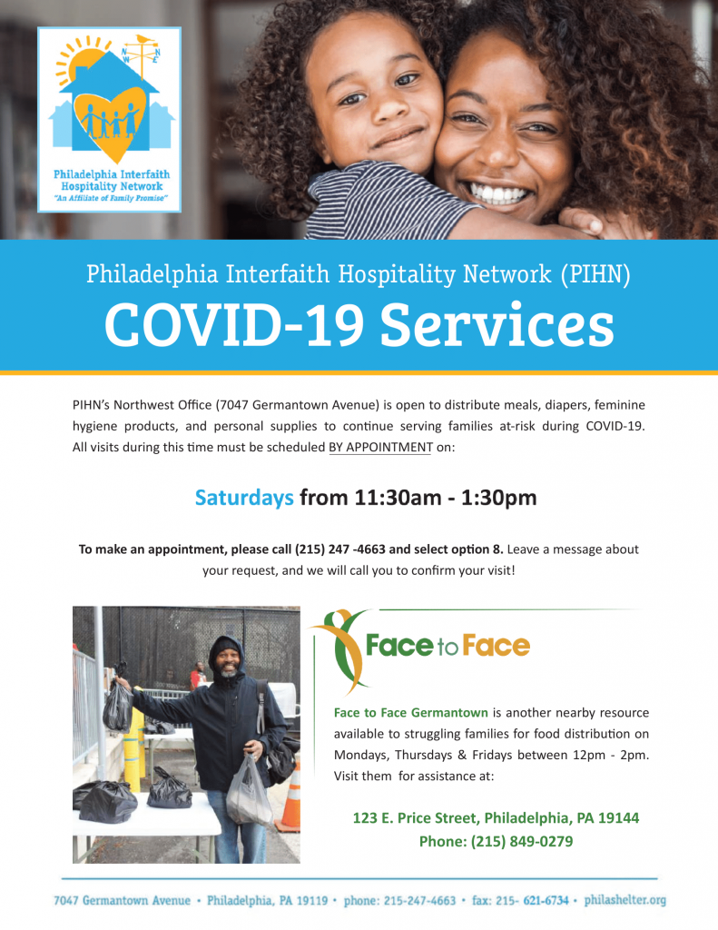 PIHN's COVID Flyer new time-min